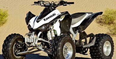 Manual de Moto Yamaha YFM450WA DESCARGAR GRATIS