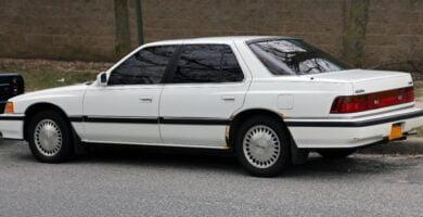 Manual Acura Legend Sedan 1990 de Usuario