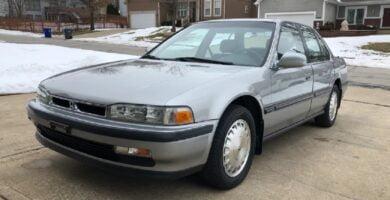 Manual Honda Accord Sedan 1991 de Usuario