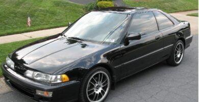 Manual Acura Integra Hatchback 1993 de Usuario