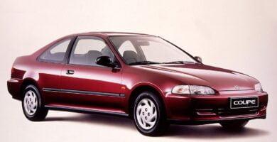 Manual Honda Civic Coupe 1993 de Usuario