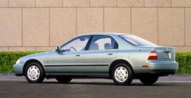 Manual Honda Accord Sedan 1994 de Usuario