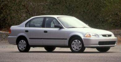 Manual Honda Civic Sedan 1996 de Usuario