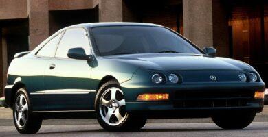 Manual Acura Integra Hatchback 1998 de Usuario