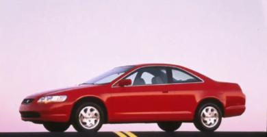 Manual Honda Accord Coupe 1999 de Usuario