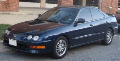 Manual Acura Integra Sedan 2001 de Usuario