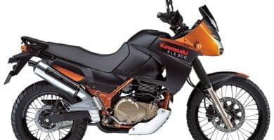 Manual en Español Kawasaki KLE500 2004 de Usuario PDF GRATIS