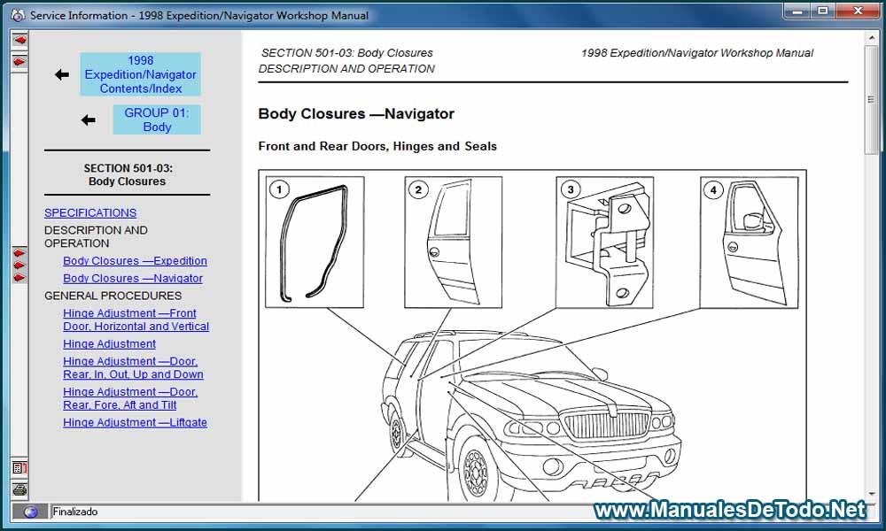 Diagramas y Esquemas Ford