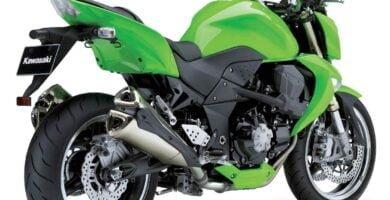 Manual en Español Kawasaki Z1000 2008 de Usuario PDF GRATIS