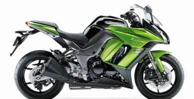Manual en Español Kawasaki Z1000SX 2013 de Usuario PDF GRATIS