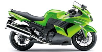 Manual en Español Kawasaki ZZR1400 2009 de Usuario PDF GRATIS