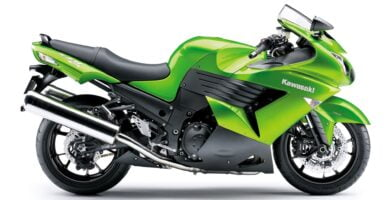 Manual en Español Kawasaki ZZR1400 ABS 2018 de Usuario PDF GRATIS