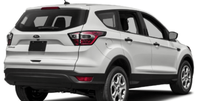 Manual en Español FORD ESCAPE 2017 de Usuario PDF GRATIS