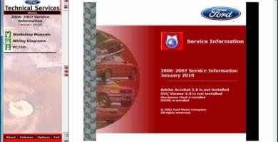 Ford TIS 2006-2007 Sistema de Información Técnica Manuales