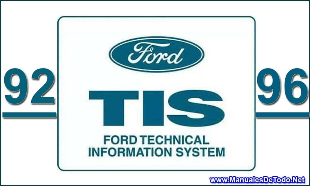 DVD 1992-1996 Ford TIS Technical Information System