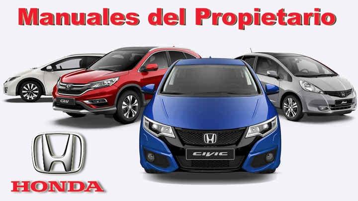 Manuales de Usuario para Autos Honda