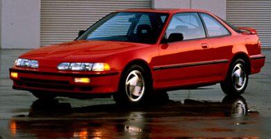 Manual Acura Integra Hatchback 1990 de Usuario