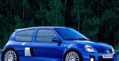 Manual RENAULT CLIO 2003 de Usuario