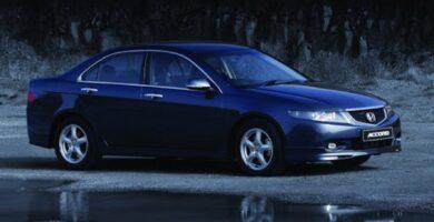 Manual Honda Accord Sedan 2005 de Usuario