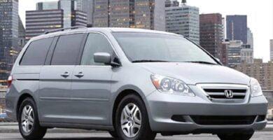 Manual Honda Odyssey 2005 de Usuario