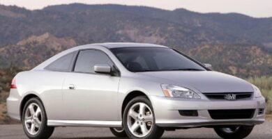 Manual Honda Accord Coupe 2007 de Usuario