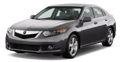 Manual Acura TSX 2010 de Usuario