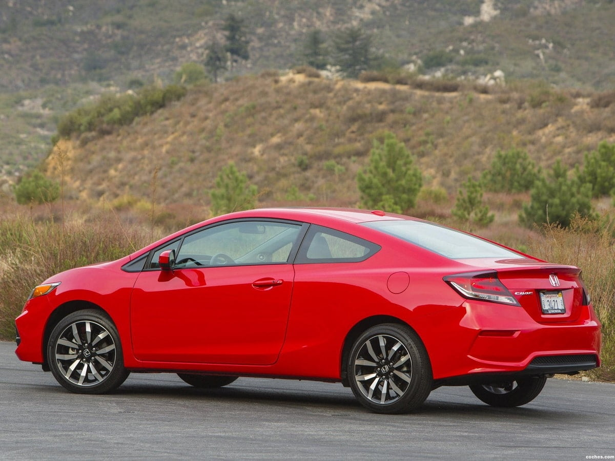 Manual Honda Civic Coupe 2014 de Usuario
