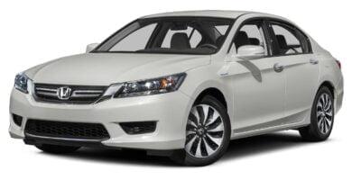 Manual Honda Accord Hybrid 2015 de Usuario