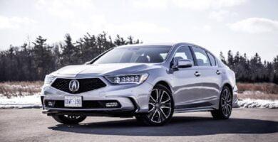 Manual Acura RLX Sport Hybrid 2018 de Usuario