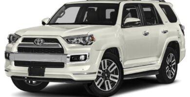 Manual Toyota 4Runner 2019 de Usuario