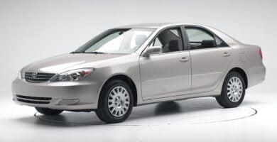 Manual Toyota Camry 2002 de Usuario