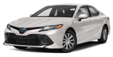 Manual Toyota Camry Hibrido 2020 de Usuario