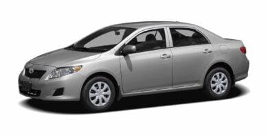 Manual Toyota Corolla 2010 de Usuario