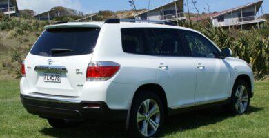 Manual Toyota Highlander 2010 de Usuario