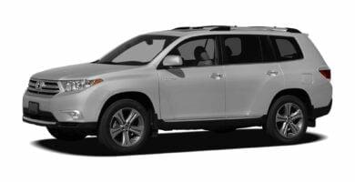 Manual Toyota Highlander 2012 de Usuario