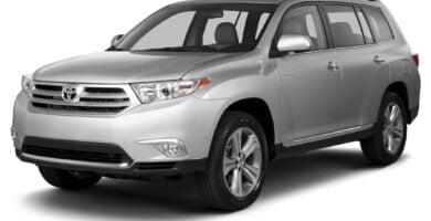 Manual Toyota Highlander 2013 de Usuario