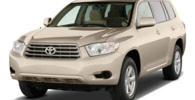 Manual Toyota Highlander Hybrid 2009 de Usuario