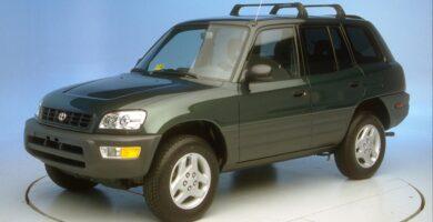 Manual Toyota RAV4 2000 de Usuario