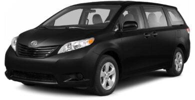 Manual Toyota Sienna 2013 de Usuario