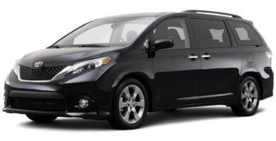 Manual Toyota Sienna 2014 de Usuario