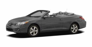 Manual Toyota Solara 2007 de Usuario