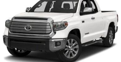 Manual Toyota Tundra 2017 de Usuario
