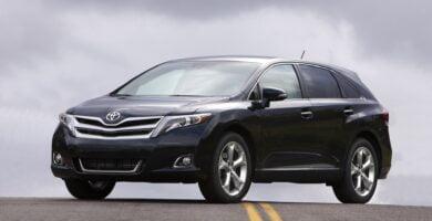 Manual Toyota Venza 2014 de Usuario