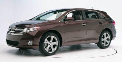 Manual Toyota Venza 2015 de Usuario