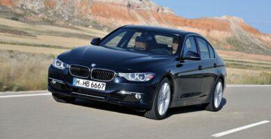 Manual BMW 328i Sedan 2012 de Usuario