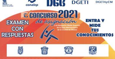 Examen con Respuestas del Comipems 2021