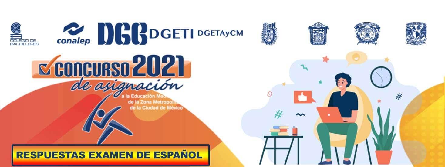 Examen de Español Resuelto Para Comipems