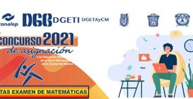 Examen de Matemáticas Resuelto Para Comipems
