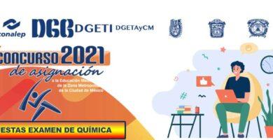 Examen de Química Resuelto Para Comipems 2021