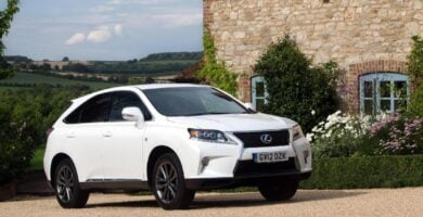 Manual LEXUS RX450h 2013